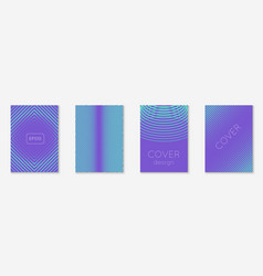 abstract covers set vector image