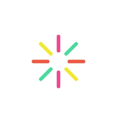 Buffering Icon vector