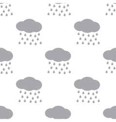 New Rain seamless pattern vector