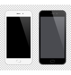 Realistic Mobile Phone Smartphone mock-up vector