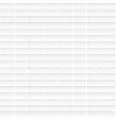 seamless white geometric tile texture vector image