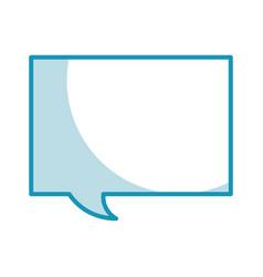 Shadow speech bubble graphic design vector
