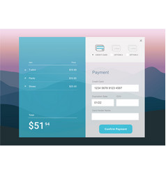 Ui for web and mobile vector