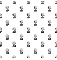 Webcam pattern seamless vector