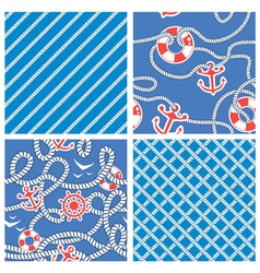 rope blue set 3 380 vector image vector image
