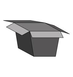 open box icon image vector image