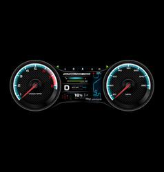 car dash board eps 10 005 vector image