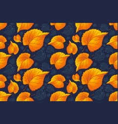 fall leaves autumn leaves are drawn with vector image