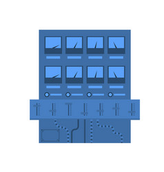 scientific electronic equipment icon vector image vector image