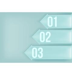 Metal background arrow vector image