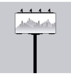 cityscape silhouette design vector image