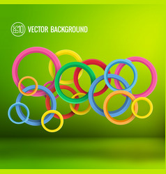 abstract dynamic bright clean template vector image
