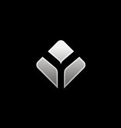 Abstract technology logo vector