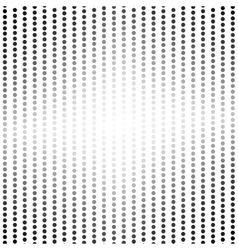 Bright dots halftone background vector