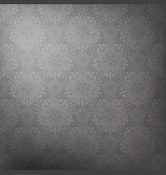 gray lace background vector image