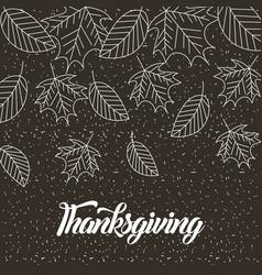 Happy thanksgiving celebrate vector