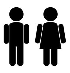 Male female vector