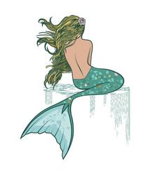 Mermaid vector