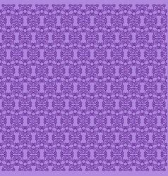 Purple openwork pattern vector