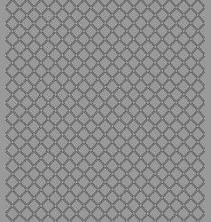 Seamless pattern with geometric shapes and symbo vector
