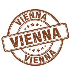 vienna stamp vector image