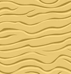 Wavy patterns in the sand vector