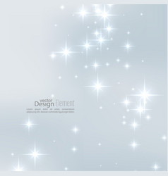 With festive flares vector