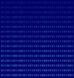 Binary computer language monitor digits vector