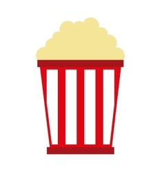 pop corn isolated icon design vector image