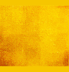 spotted yellow canvas background vector image vector image