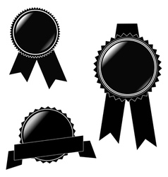 Labels and Sticker collection vector image vector image