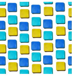 seamless pattern made up of geometric vector image