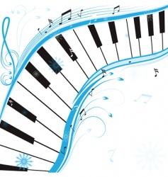 winter music vector image