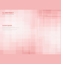 abstract gradient pink square pattern background vector image