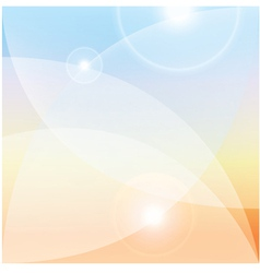 Abstract light background lenses flare effect vector image