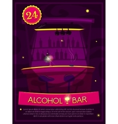 Alcohol Bar vector