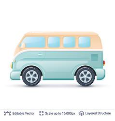 Classic volkswagen bus vector