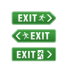 Emergency exit pointers vector
