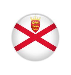 Flag jersey button vector