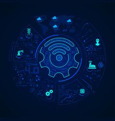 Industryfour vector