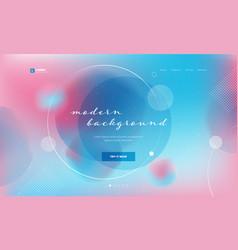 Liquid color background design fluid gradient vector