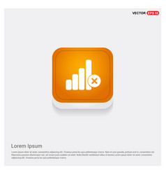 No wireless network icon vector