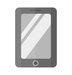 Tablet computer smartphone isolated vector image