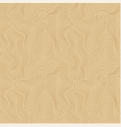 Topographic map seamless pattern curved vector