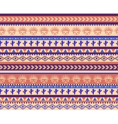 Warrior pattern vector