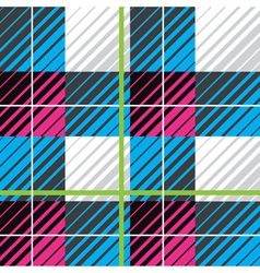 modern plaid seamless pattern vector image vector image