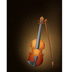 A string instrument vector image