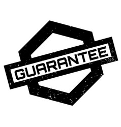 guarantee rubber stamp vector image vector image