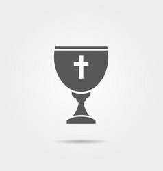 chalice icon vector image