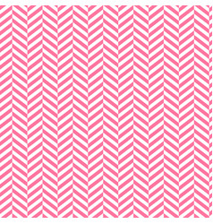 chevron background red and white stripped vector image